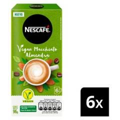 NESCAFE - Café Nescafé Vegan Macchiato Almendra 6X16G X6 Cjs