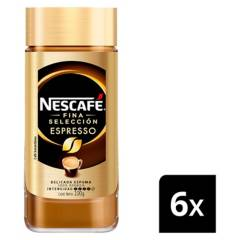 NESCAFE - Café Nescafé Espresso 100G X6 Frascos