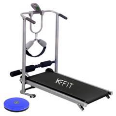 K-FIT - Caminadora Trotadora Plegable 4 en 1