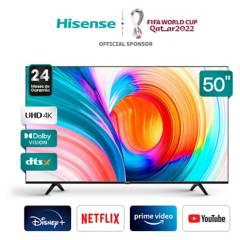 """HISENSE - LED 50"""" 50A6G 4K HDR Android Smart TV 2020/21"""
