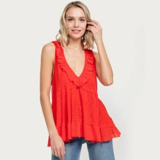 FREE PEOPLE - Polera Out And About