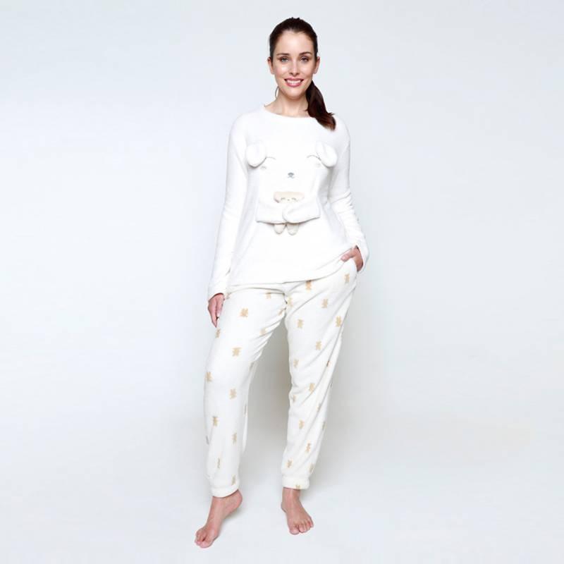 Kayser - Pijama Coral Fleece Mujer