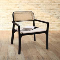 LONDRA - Set de 2 sillas Natura de madera