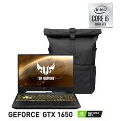 """ASUS - TUF Gaming F15 FX506LH-HN110T Intel Core i5 8GB RAM 512GB SSD NVIDIA GeForce GTX 1650 15.6"""" 144Hz"""
