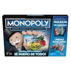 HASBRO GAMING - Monopoly Super Banco Electrónico - Español