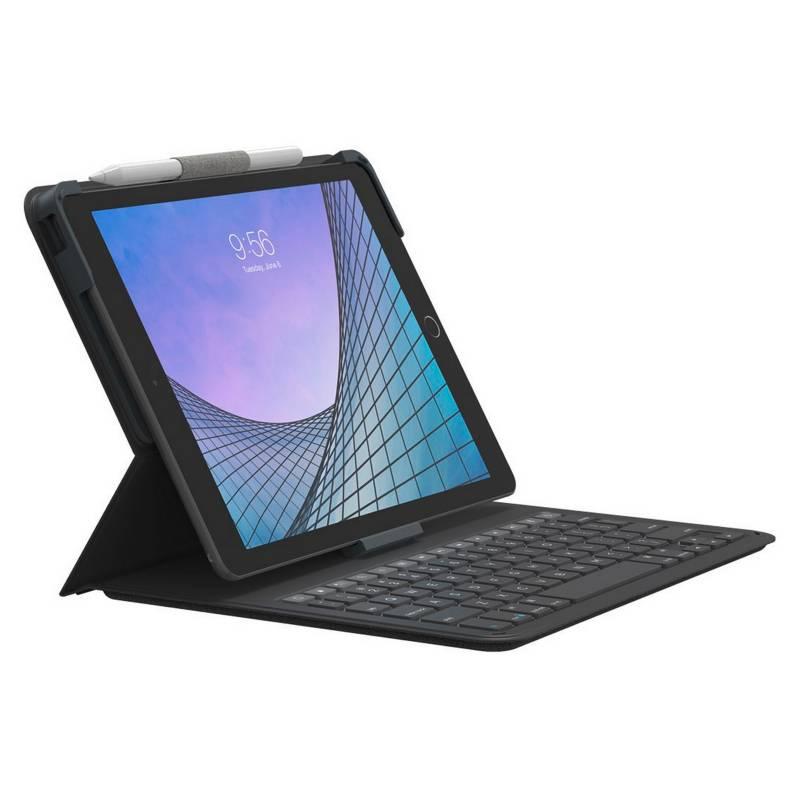 ZAGG - Funda Folio Con Teclado Para iPad 8 Gen