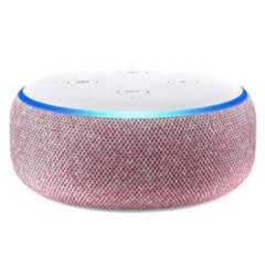 AMAZON - Amazon Echo Dot 3  Rojo Parlante Inteligente