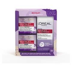 DERMO EXPERTISE - Set Hialurónico Día y Noche + Mask L'Oréal Skin