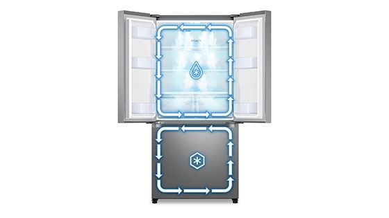 Samsung French Door de 431L con Twin Cooling Plus