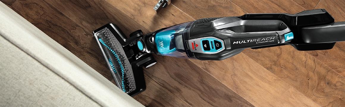 Aspiradora Inalambrica MultiReach Essential 18V BISSELL 2280N, Maniobrabilidad para una Limpieza más Cómoda