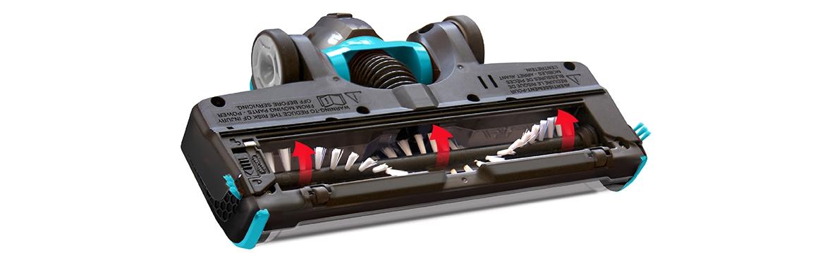 Aspiradora Inalambrica MultiReach Essential 18V BISSELL 2280N, Rodillo de Limpieza Siempre Limpio