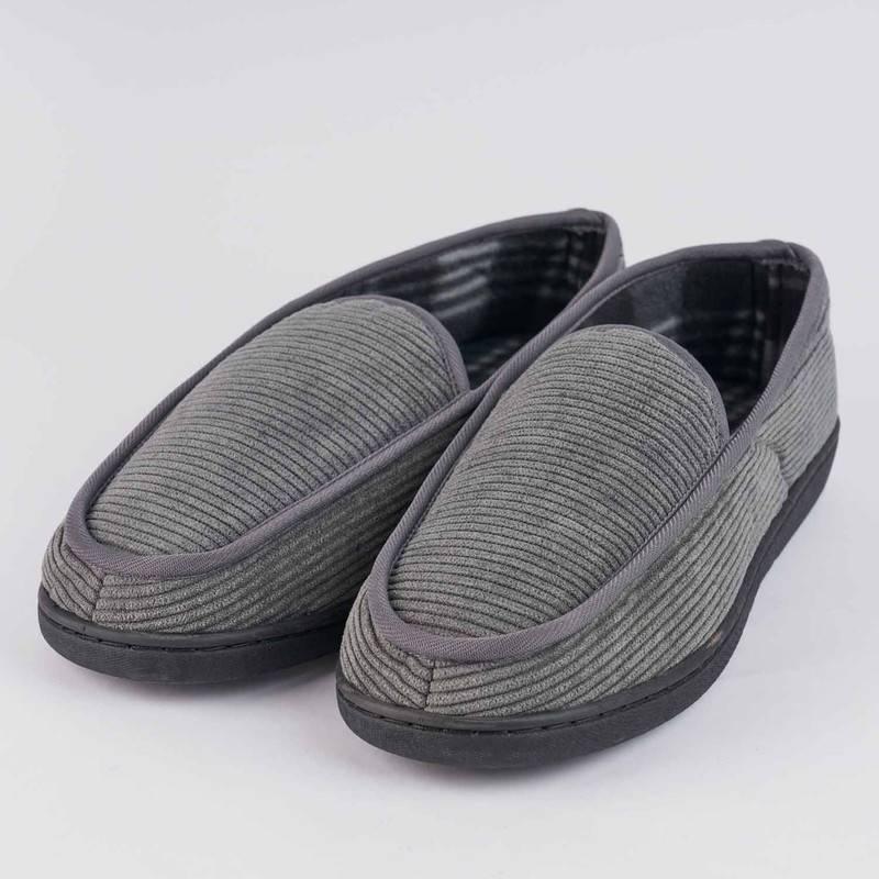 BAZIANI - Pantuflas de Descanso de Pana