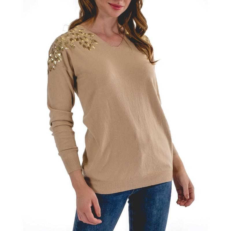 GUINDA - Sweater Agustina
