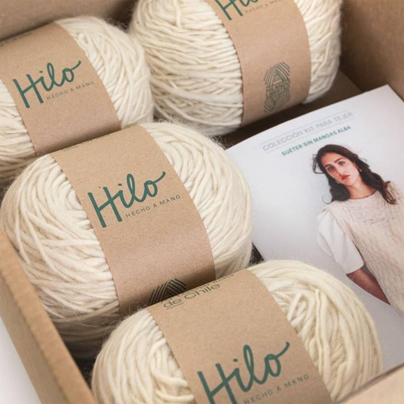 FUNDACIÓN ARTESANÍAS DE CHILE - Colección Hilo Hecho a Mano - Kit de tejido adulto
