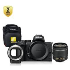 Nikon - Z50  18-55mm  FTZ  Bolso  Garantía 2 años