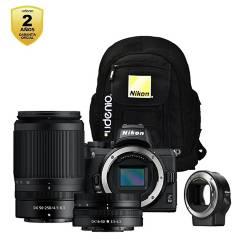 Nikon - Z50  16-50  50-250  FTZ  Mochila  Garantía 2