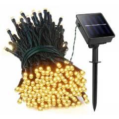 Generico - Guirnalda 200 Luces Led Con Carga Solar