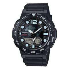 CASIO - Reloj análogo/digital Hombre AEQ-100W-1AVDF