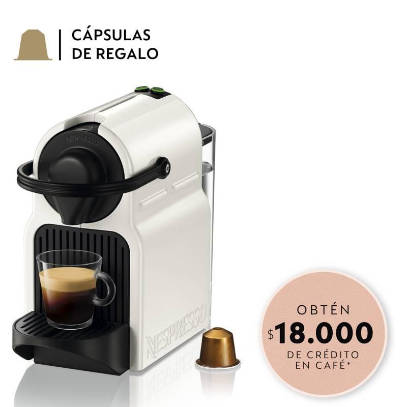 NESPRESSO - Cafetera Inissia C40 Blanca