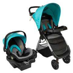 SAFETY 1st - Coche Travel System Amble Luxe Lakeblue