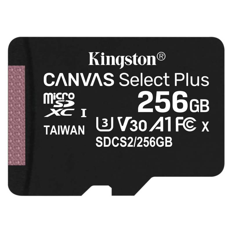 KINGSTON - Tarjeta Micro Sd Canvas Select Plus 256Gb