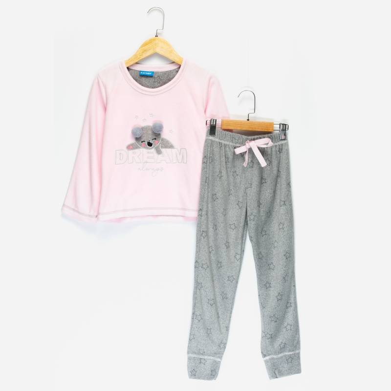 Kayser - Pijama Polar 2 Piezas Niña