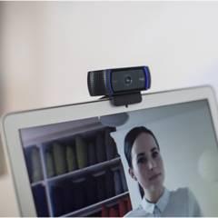 LOGITECH - CAMARA WEB LOGITECH C920S FULL HD 1080P DOBLE MIC