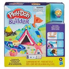 PLAY DOH - Arte Y Manualidades Para Niños Play-Doh Builder Kit De Campamento