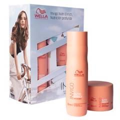 WELLA - Set Nutrición Invigo Enrich Shampoo 250 ml + Máscara 150 ml