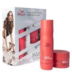 WELLA - Set Invigo Color Brilliance Shampoo 250 ml + Máscara 150 ml