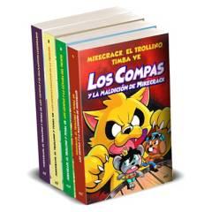 EDITORIAL PLANETA - Pack Los Compas