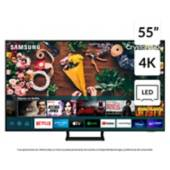 """SAMSUNG - LED 55"""" AU9000 Crystal UHD 4K Smart TV 2021"""