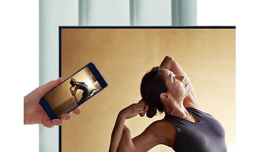 QLED Samsung 55