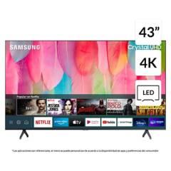 """SAMSUNG - LED 43"""" TU7100 Crystal UHD 4K Smart TV"""
