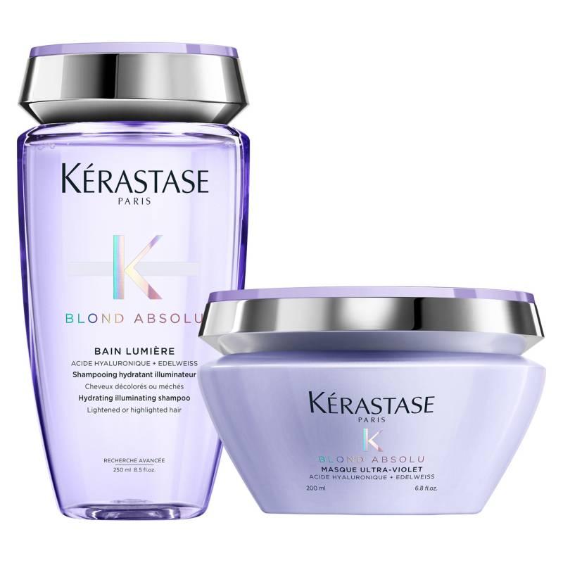 KERASTASE - Set Cabello Rubio Blond Absolu Bain Lumière 250 ml + Masque 200 ml