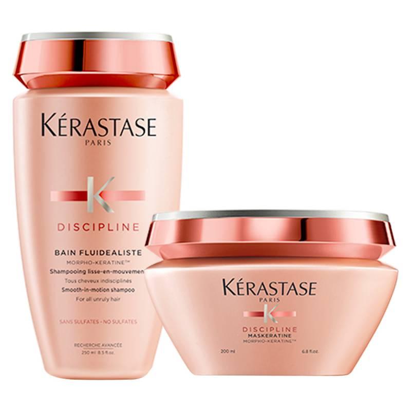 KERASTASE - Set Anti-Frizz Discipline Bain 250 ml + Masque 200 ml