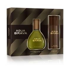 AGUA BRAVA - Set Perfume Hombre Agua Brava Edt 100 ml + Desodorante 150 ml