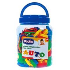 DACTIC - Letra Mayúscula Hilar Plástico 96U (039) Dactic