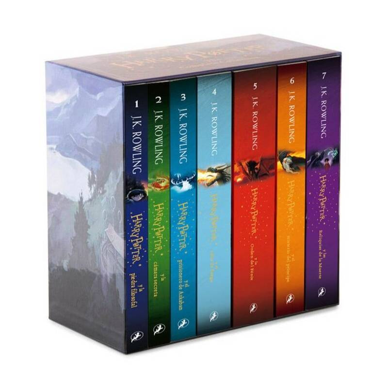 SALAMANDRA - Pack Harry Potter - La Serie Completa