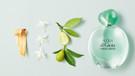 Acqua di Gioia ADGA Perfume Giorgio Armani Ingrediemtes Notas
