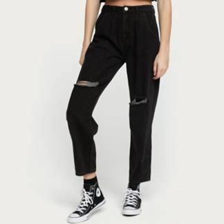 SYBILLA - Jeans Slouchy Tiro Alto Mujer
