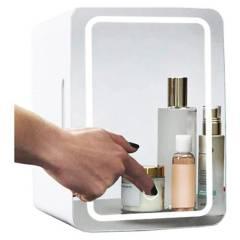 GENERICA - Mini Refrigerador Skin Care 8L. Espejo