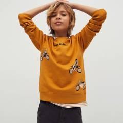 MANGO KIDS - Polerón Algodón Niño