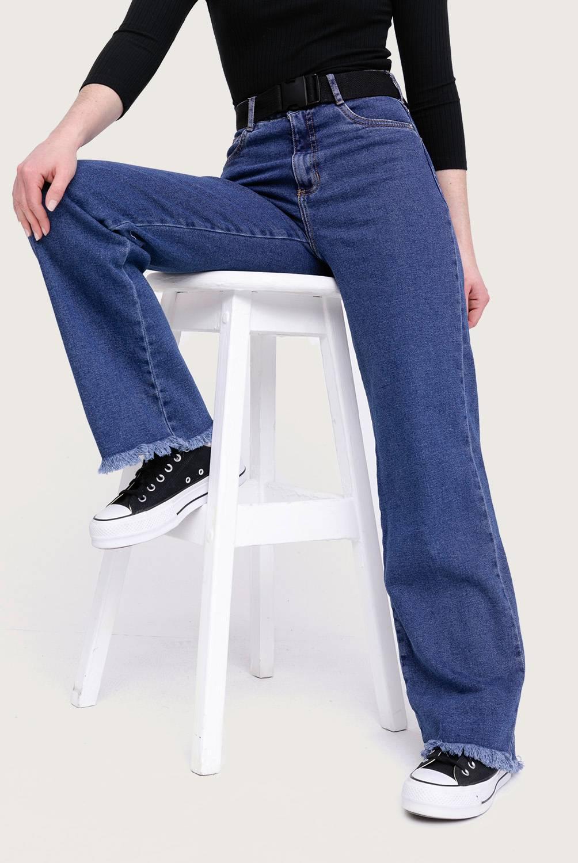 SYBILLA - Jeans Leggins Alto Mujer