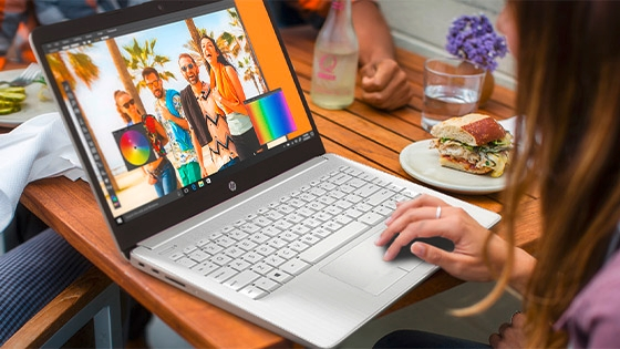 HP Notebook 14-cf2051la procesador Intel® Core i y almacenamiento SSD con Intel® Optane Memory