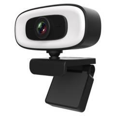 GENERICO - Cámara Web Webcam 2K Con Trípode De 10Cm De Regalo
