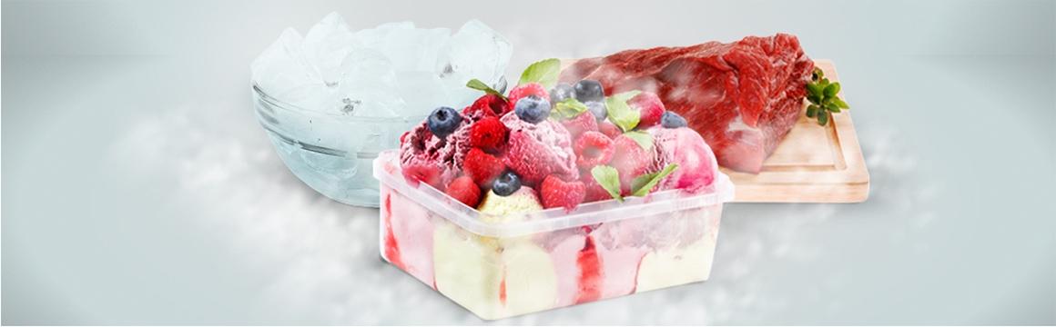 Sector freezer