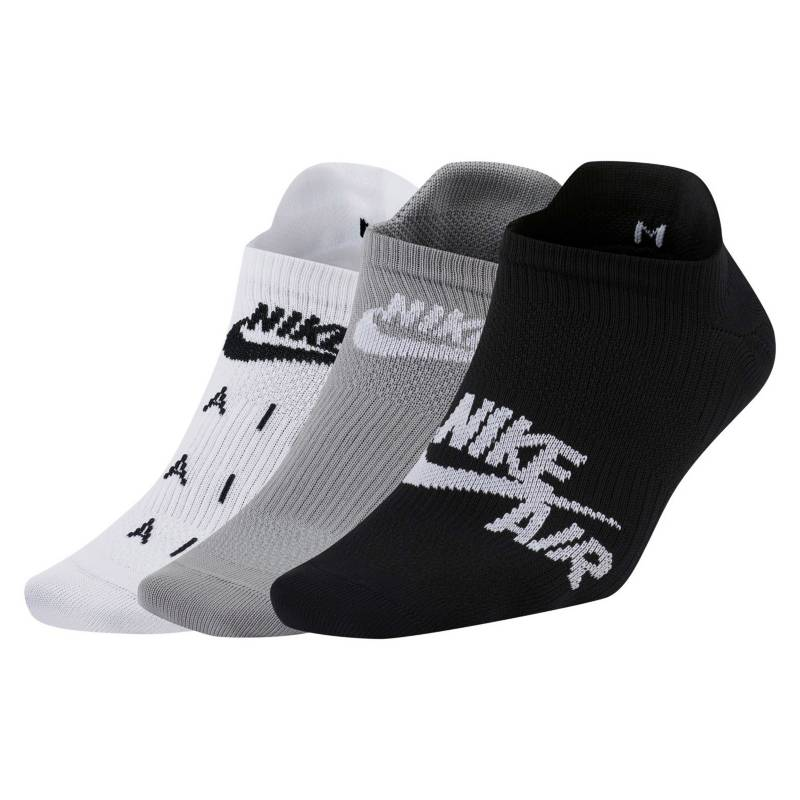 NIKE - Pack de 3 Calcetines No Show Training Mujer