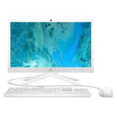"HP - All in One 21-B0021LA Intel Pentium Silver J5040 8G RAM 1TB HDD 20,7"" Blanco"