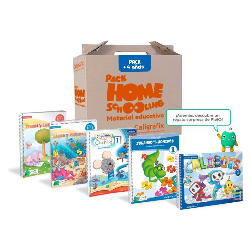 CALIGRAFIX - Pack Homeschooling  4 años